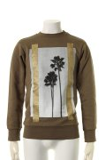 【CLEARANCE-SALE 20%OFF|54,000円→43,200円】  Palm Angels パームエンジェルス PALMS CREWNECK{PMBA001S7087007-4388-AGS}{PS20}