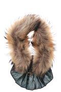 dictionary ディクショナリー Fur and Ruffled collar{A11-LL1-NE01-02-}