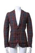{セール価格・ご購入方法はお問い合わせください}AKM エーケーエム WASHABLE ITALY LINEN collection wrinkle jacket{-ACS}{6SGA_EJ}