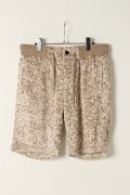 AKM エーケーエム mocomoco mountain leopard shorts{-AES}{AJ00}