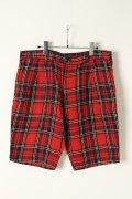 {※セール価格・ご購入方法はお問合せください} AKM エーケーエム WASHABLE ITALY LINEN collection wrinkle shorts (pants){-ACS}{GS50}
