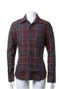 {※セール価格・ご購入方法はお問合せください} AKM エーケーエム WASHABLE ITALY LINEN collection wrinkle shirts{-ACS}{GS50}