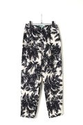 【30%OFFセール|18,144円→12,701円】  AULA AILA by the sea アウラアイラ バイザシー PARM TREE PRINT LONG PANTS{-AES}