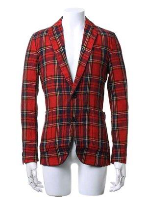 画像2:  {価格・ご購入方法はお問い合わせください} AKM エーケーエム WASHABLE ITALY LINEN collection wrinkle jacket{-ACS}{OS_65}