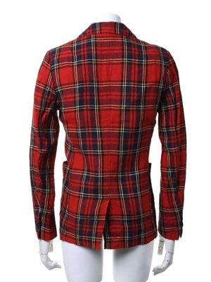 画像3:  {価格・ご購入方法はお問い合わせください} AKM エーケーエム WASHABLE ITALY LINEN collection wrinkle jacket{-ACS}{OS_65}