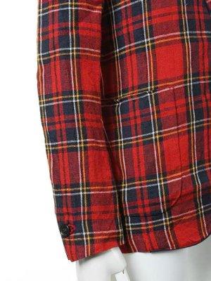 画像5:  {価格・ご購入方法はお問い合わせください} AKM エーケーエム WASHABLE ITALY LINEN collection wrinkle jacket{-ACS}{OS_65}