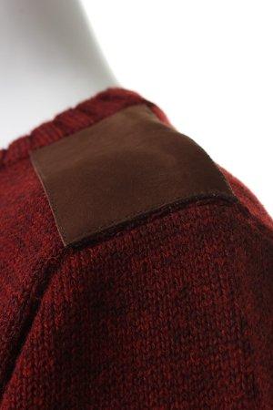 画像3: AKM エーケーエム wool / cow army knit{-ACA}{OS_65}