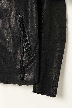 画像4: 【 10%OFF セール 173,800円→156,420円】 FranCisT_MOR.K.S.  フランシストモークス Stretch Lamb Leather JKT{-BJA}