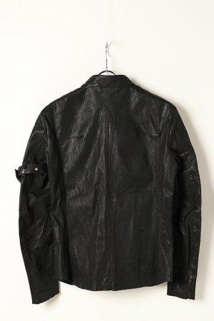 画像5: 【 10%OFF セール 173,800円→156,420円】 FranCisT_MOR.K.S.  フランシストモークス Stretch Lamb Leather JKT{-BJA}