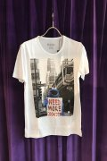 【ポイント10倍】  NO COMMENT PARIS ノーコメントパリ T-SHIRT M-CREW monstercookies{NC-TM.FUN24-WHT-AGA}