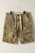 【50%OFFセール|18,360円→9,180円】  VADEL バデル 20 rip stop camo utility shorts{-ADS}