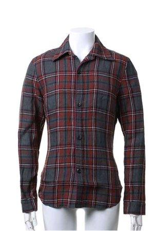 画像1: AKM エーケーエム WASHABLE ITALY LINEN collection wrinkle shirts{-ACS}{OS_65}