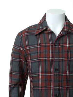 画像4: AKM エーケーエム WASHABLE ITALY LINEN collection wrinkle shirts{-ACS}{OS_65}