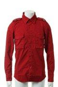 ▽ 65%OFF アウトレットセール38,500円→13,475円▽ AKM エーケーエム vintage strectch cotton L/S dress Shirts{-ACS}