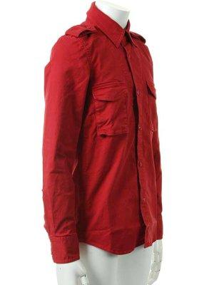 画像2:  {価格・ご購入方法はお問い合わせください} AKM エーケーエム vintage strectch cotton L/S dress Shirts{-ACS}{OS_65}
