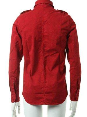 画像3:  {価格・ご購入方法はお問い合わせください} AKM エーケーエム vintage strectch cotton L/S dress Shirts{-ACS}{OS_65}