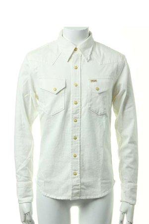 画像1:  {価格・ご購入方法はお問い合わせください} AKM エーケーエム stretch denim rodeo shirt{-ACS}{OS_65}