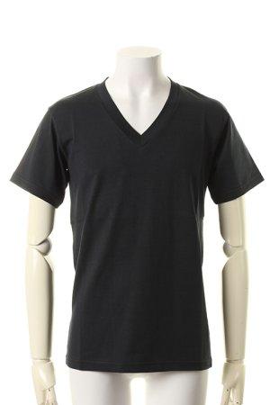 """画像1: T' ティー """"GIZA45"""" Egyptian Organic Cotton series Vee Nack Short Sleeve BASIC (K621){-AHS}"""